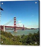 Golden Gate Bridge In San Francisco Acrylic Print