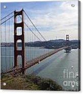 Golden Gate Bridge - San Francisco Acrylic Print