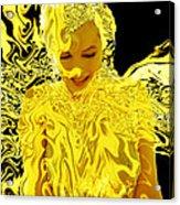 Golden Goddess Acrylic Print