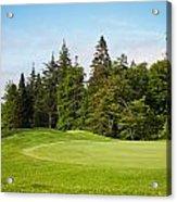 Golf Course Acrylic Print