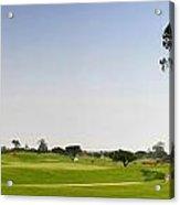 Golf Fairway Acrylic Print
