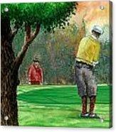 Golf Outing Acrylic Print