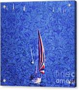 Gone Sailing Acrylic Print