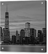 Good Morning New York City Acrylic Print