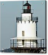 Goose Rocks Lighthouse Acrylic Print