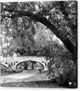 Gothic Bridge Acrylic Print