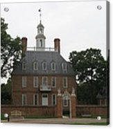 Governers Palace Colonial Williamsburg Acrylic Print