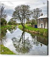 Grand Canal At Miltown Acrylic Print
