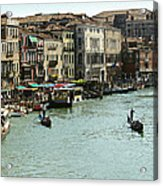 Grand Canal Acrylic Print