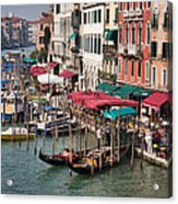 Grand Canal In Venice Acrylic Print