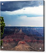 Grand Canyon Storm Acrylic Print