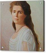 Grand Duchess Maria Nikolaevna Of Russia Acrylic Print