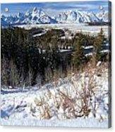 Grand Teton Landscape Acrylic Print