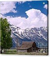 Grand Teton Np Acrylic Print