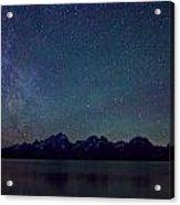 Grand Tetons Majestic View Acrylic Print