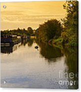 Grand Union Canal In Berkhampsted Acrylic Print