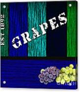 Grape Farm Acrylic Print