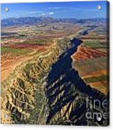 Great Canyon River Gor In Spain Acrylic Print