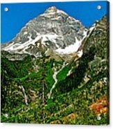 Great Glacier Trail In Glacier Np-british Columbia Acrylic Print