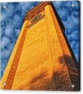 Great Northern Clock Tower Acrylic Print by Dan Quam