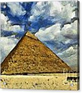 Great Pyramid Of Egypt Acrylic Print