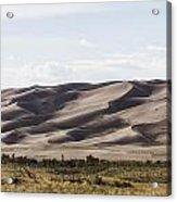 1 Great Sand Dunes Panorama Acrylic Print