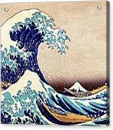 Great Wave Off Kanagawa Acrylic Print