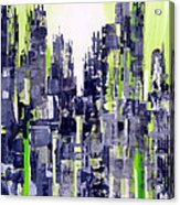 Green City Acrylic Print