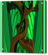 Green Deck 9  Acrylic Print
