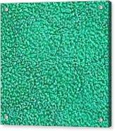 Green Towel Acrylic Print