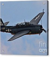 Grumman Tbm-3e Avenger Acrylic Print by Tommy Anderson