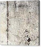 Grunge Concrete Texture Acrylic Print