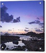 Guernsey Sunset Acrylic Print