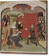 Guesclin, Bertrand Du 1315-1380. French Acrylic Print