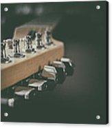 Guitar Head At A Glance Acrylic Print