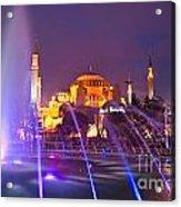 Hagia Sophia - Istanbul Acrylic Print