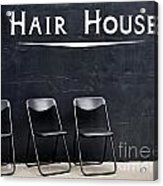 Hair House Acrylic Print