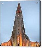 Hallgrimskirkja Church Acrylic Print