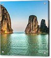Halong Bay -vietnam Acrylic Print