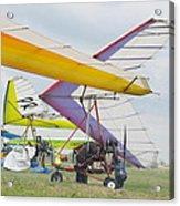 Hang Gliding Acrylic Print