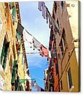 Hanging In Venice Acrylic Print