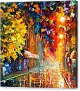 Happy Street Acrylic Print