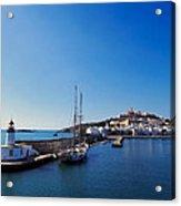 Harbor In Ibiza Town Acrylic Print