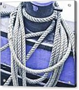 Harbour Rope Acrylic Print