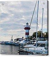 Harbourtown Harbor Acrylic Print