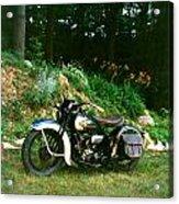 Harley Davidson  1935 Acrylic Print