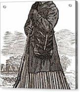 Harriet Tubman, American Abolitionist Acrylic Print