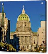 Harrisburg, Pennsylvania, City Skyline Acrylic Print