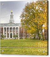 Harvard University Acrylic Print