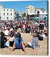 Hastings Pirate Day Acrylic Print